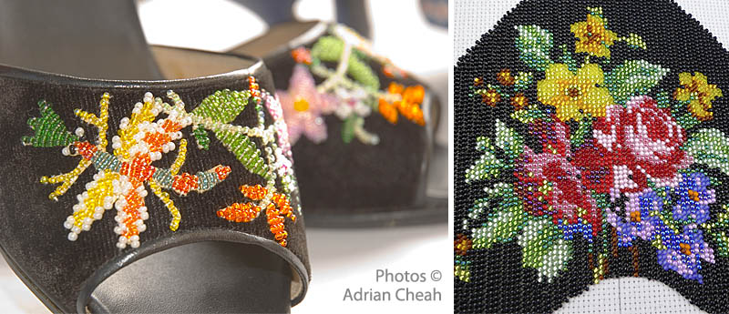 Nyonya beaded shoes © Adrian Cheah