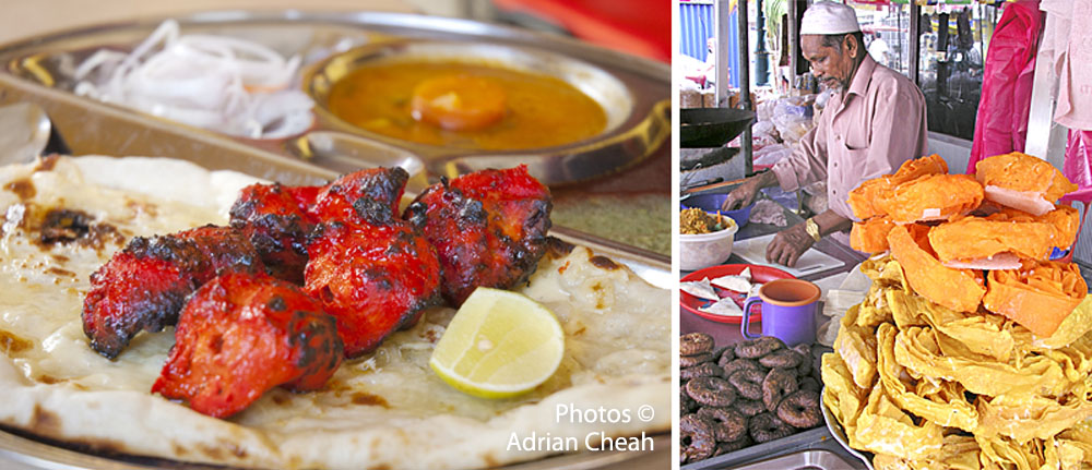 Penang Indian food © Adrian Cheah