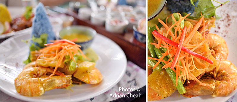 prawn lemak with pineapple © Adrian Cheah